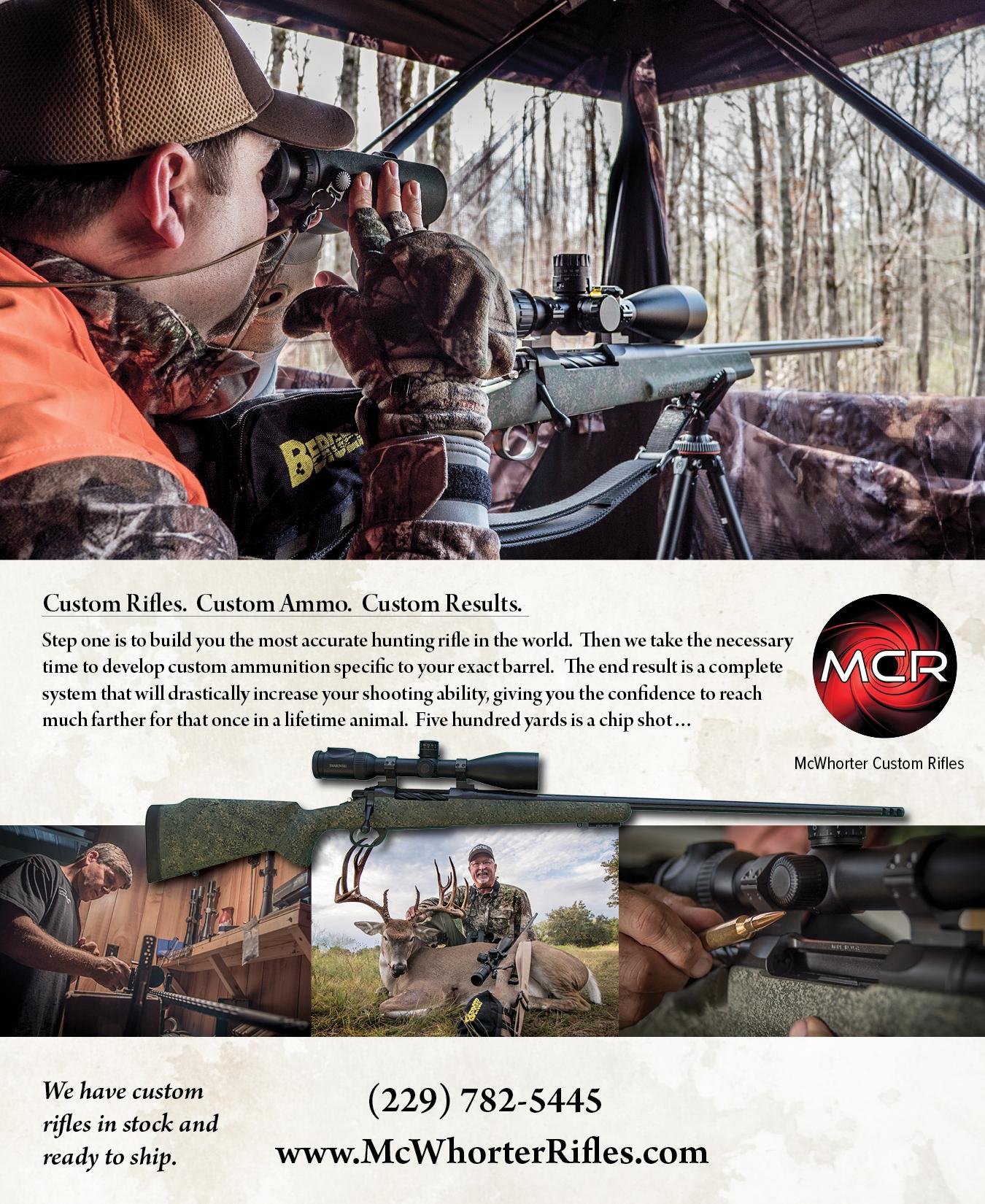McWhorter Custom Rifles
